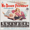 "Movie Posters:Drama, No Down Payment (20th Century Fox, 1957). Six Sheet (79"" X 80""). Drama.. ..."