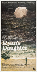 "Movie Posters:Drama, Ryan's Daughter (MGM, 1970). Three Sheet (41"" X 79""). Drama.. ..."