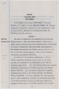 Football Collectibles:Others, 1962 Red Cochran Signed Green Bay Packers Contract Also Signed by Vince Lombardi, Pete Rozelle, PSA/DNA Mint 9. ...