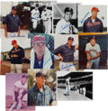 Baseball Collectibles:Photos, 1990's Ted Williams Signed Photographs Lot of 11....