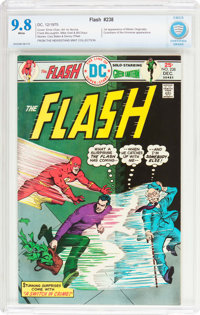 The Flash #238 (DC, 1975) CBCS NM/MT 9.8 White pages