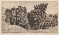 Fine Art - Work on Paper:Print, Luigi Lucioni (American, 1900-1988). Group of Three Country Landscapes. Etchings, each. Ed. 250. Each signed in pencil l... (Total: 3 Items)