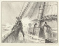 Fine Art - Work on Paper:Print, Gordon Hope Grant (American, 1875-1962). Group of Four Life at Sea Vignettes. Lithograph, each. Ed. 250. Each signed in ... (Total: 4 Items)