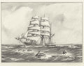 Fine Art - Work on Paper:Print, Gordon Hope Grant (American, 1875-1962). Group of Three Maritime Scenes. Lithograph, each. Ed. 250. Each signed in penci... (Total: 3 Items)