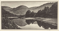 Asa Cheffetz (American, 1896-1965) Group of Three Vermont Landscapes Wood engravings, each Ed. 25