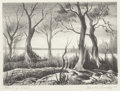 Fine Art - Work on Paper:Print, Charles Taylor Bowling (American, 1891-1985). Morning, 1942.Lithograph. 6 x 8-1/4 inches (image). 8-3/8 x 11 inches (sh...