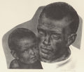 Fine Art - Work on Paper:Print, Joseph Hirsch (American, 1910-1981). Father and Son, 1945. Lithograph. 11-3/4 x 13-1/4 inches (sight). Ed. 250. Signed i...