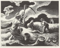 Fine Art - Work on Paper:Print, Thomas Hart Benton (American, 1889-1975). Island Hay, 1945.Lithograph. 9-7/8 x 12-1/2 inches (image). 12 x 16 inches (s...