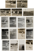 Baseball Collectibles:Photos, 1940's Negro Leaguers Original Photographs Lot of 17 (PSA/DNA Type1) from The Monte Irvin Collection. ...