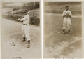 Baseball Collectibles:Photos, 1940's Monte Irvin Newark Eagles Negro Leagues Original PhotographsLot of 2 (PSA/DNA Type 1) from The Monte Irvin Collection....