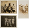 Baseball Collectibles:Photos, 1930's Monte Irvin Original Photographs Lot of 3 from The MonteIrvin Collection. ...