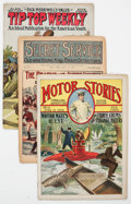 Platinum Age (1897-1937):Miscellaneous, Platinum Age Group of 5 (Various Publishers, early 1893-1917)Condition: Average FR.... (Total: 5 Comic Books)