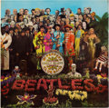 Music Memorabilia:Memorabilia, Beatles Sgt. Pepper's Lonely Hearts Club Band UK SecondLabel Pressing Unbanded Stereo LP (UK - Parlophone 7027, 1...