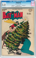 Golden Age (1938-1955):Superhero, Batman #33 (DC, 1946) CGC VG/FN 5.0 Off-white to white pages....