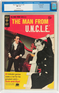 Man from U.N.C.L.E. #22 Northland Pedigree (Gold Key, 1969) CGC NM- 9.2 Off-white pages