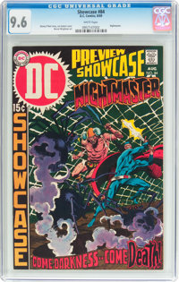 Showcase #84 Nightmaster (DC, 1969) CGC NM+ 9.6 White pages