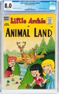 Silver Age (1956-1969):Humor, Little Archie in Animal Land #1 (Archie, 1957) CGC VF 8.0 Off-white pages....