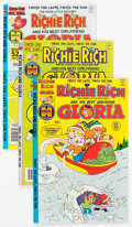 Modern Age (1980-Present):Humor, Richie Rich and Gloria File Copy Long Box Group (Harvey, 1979-82)Condition: Average NM-....