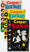 Bronze Age (1970-1979):Cartoon Character, Casper-Related File Copies Box Lot (Harvey, 1960s-80s) Condition:Average VF/NM....