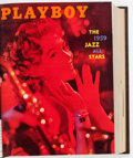 Magazines:Miscellaneous, Playboy 1959 Complete Year Bound Volume (HMH Publishing, 1959)....
