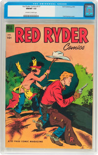 Red Ryder Comics #117 (Dell, 1953) CGC NM/MT 9.8 Off-white to white pages