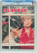 Magazines:Vintage, Playboy V2#12 Newsstand Edition (HMH Publishing, 1955) CGC NM 9.4 White pages....