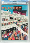 Magazines:Vintage, Playboy V4#5 Newsstand Edition (HMH Publishing, 1957) CGC NM 9.4 White pages....