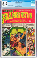 Golden Age (1938-1955):Horror, Frankenstein Comics #32 (Prize, 1954) CGC VF+ 8.5 Cream tooff-white pages....