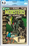 Bronze Age (1970-1979):Horror, DC Special #11 Monsters (DC, 1971) CGC NM- 9.2 Off-white to whitepages....