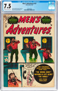 Golden Age (1938-1955):Horror, Men's Adventures #23 (Atlas, 1953) CGC VF- 7.5 Cream to off-whitepages....