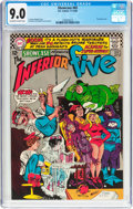 Silver Age (1956-1969):Superhero, Showcase #65 The Inferior Five (DC, 1966) CGC VF/NM 9.0 Off-white to white pages....