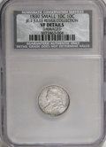 Bust Dimes, 1830 10C Small 10C--Damaged--NCS. VF Details. Ex: Jules ReiverCollection, JR-2. PCGS Population (0/5)...