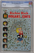 Silver Age (1956-1969):Humor, Richie Rich Dollars and Cents #9 File Copy (Harvey, 1965) CGC NM+ 9.6 Off-white to white pages....