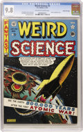 Golden Age (1938-1955):Science Fiction, Weird Science #5 Gaines File pedigree 6/10 (EC, 1951) CGC NM/MT 9.8 Off-white to white pages....