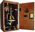 Antiques:Decorative Americana, Late 19th-Century Carl Zeiss Continental Microscope. ...