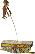 Antiques:Toys, Marx Acrobatic Marvel Wind-up Toy.... (Total: 2 Items)