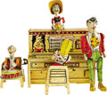 Antiques:Toys, Li'l Abner and His Dogpatch Band Wind-Up Toy.... (Total: 5 Items)