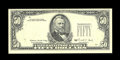 Error Notes:Third Printing on Reverse, Fr. 2123-G $50 1988 Federal Reserve Note. About Uncirculated.. ...