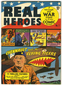 Real Heroes Comics #7 Pennsylvania pedigree (Parents' Magazine Institute, 1942) Condition: VF+