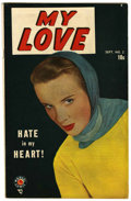 Golden Age (1938-1955):Romance, My Love #2 (Marvel, 1949) Condition: VF-....
