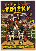 Golden Age (1938-1955):Funny Animal, Frisky Animals #47 (Star Publications, 1951) Condition: FN-....