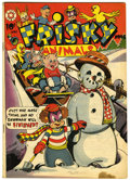 Golden Age (1938-1955):Funny Animal, Frisky Animals #48 (Star Publications, 1952) Condition: VG....