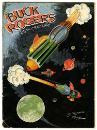 Buck Rogers in the 25th Century #370A (Kellogg Company, 1933) Condition: GD+