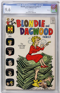 Blondie and Dagwood Family #1 File Copy (Harvey, 1963) CGC NM+ 9.6 Off-white pages