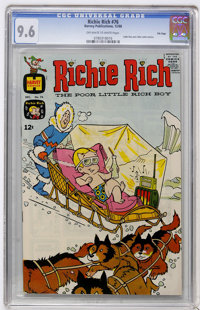 Richie Rich #76 File Copy (Harvey, 1968) CGC NM+ 9.6 Off-white to white pages