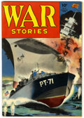 Golden Age (1938-1955):War, War Stories #8 Pennsylvania pedigree (Dell, 1943) Condition:VF-....