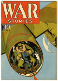 Golden Age (1938-1955):War, War Stories #6 Pennsylvania pedigree (Dell, 1942) Condition:FN+....