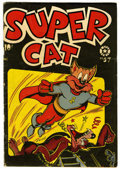 Golden Age (1938-1955):Funny Animal, Super Cat #57 (Star Publications, 1954) Condition: GD+....