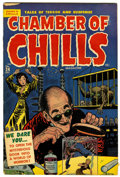 Golden Age (1938-1955):Horror, Chamber of Chills 24 (#4) (Harvey, 1951) Condition: VG/FN....