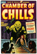 Golden Age (1938-1955):Horror, Chamber of Chills #6 (Harvey, 1952) Condition: FN-....